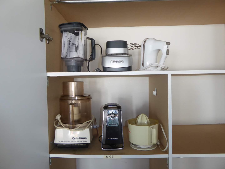 Lot # 55 - Small Kitchen Appliances (Velocity Ultra Blender, Hand Blender, Juicer & Food Processor)  (main image)