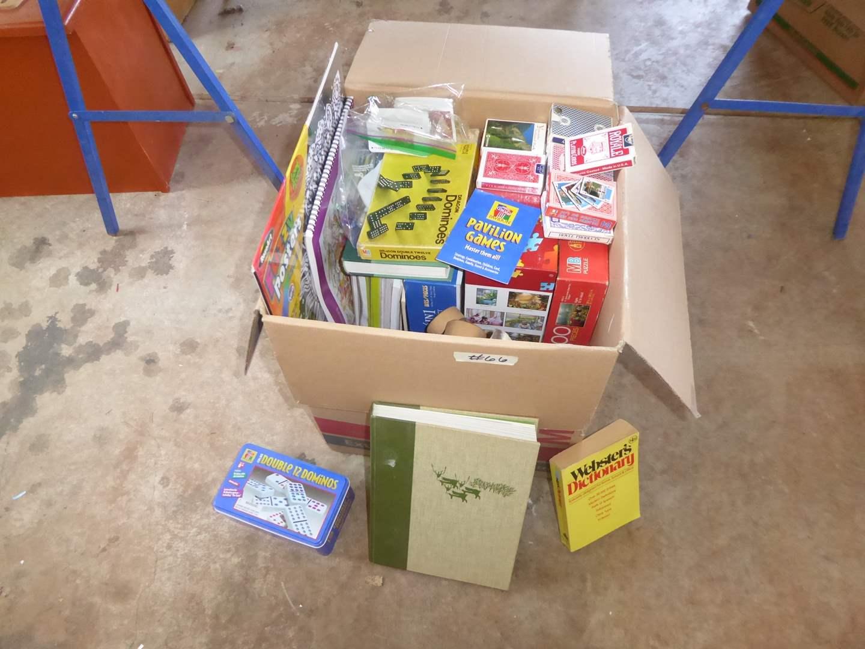 Lot # 66 - Games, Vintage Skates, Cards & Coloring Books  (main image)