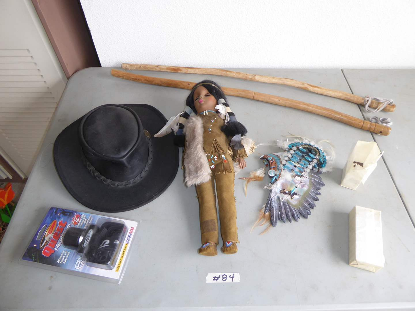 Lot # 84 - Soaring Spirits By Ted Blaylock, Native American Doll & More (main image)