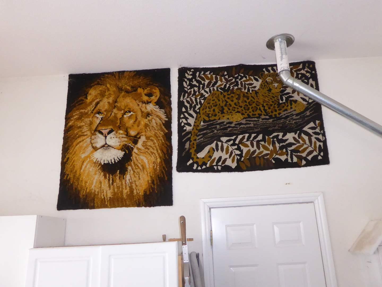 Lot # 94 - Two Handmade Rugs/Wall Hangings  (main image)