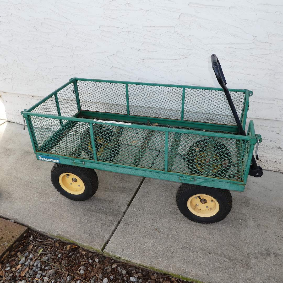 Lot # 307 - Falconer Yard Cart  (main image)