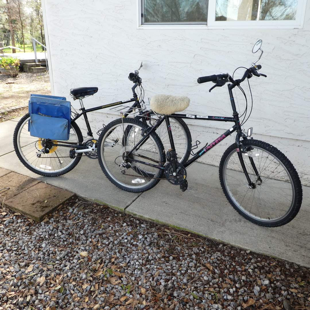 """Lot # 308 - Two Bicycles, Specialized """"Hardrock"""" Bicycle and Univega """"Rover - Sti Bicycle (main image)"""