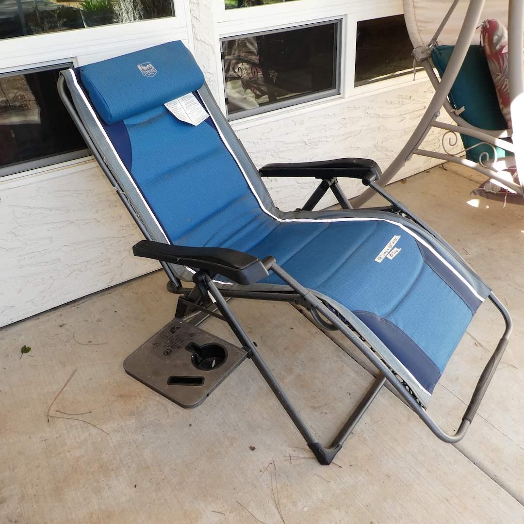 Lot # 316 - Timber Ridge Zero Gravity Locking Lounge Chair (Adjustable Recliner) (main image)