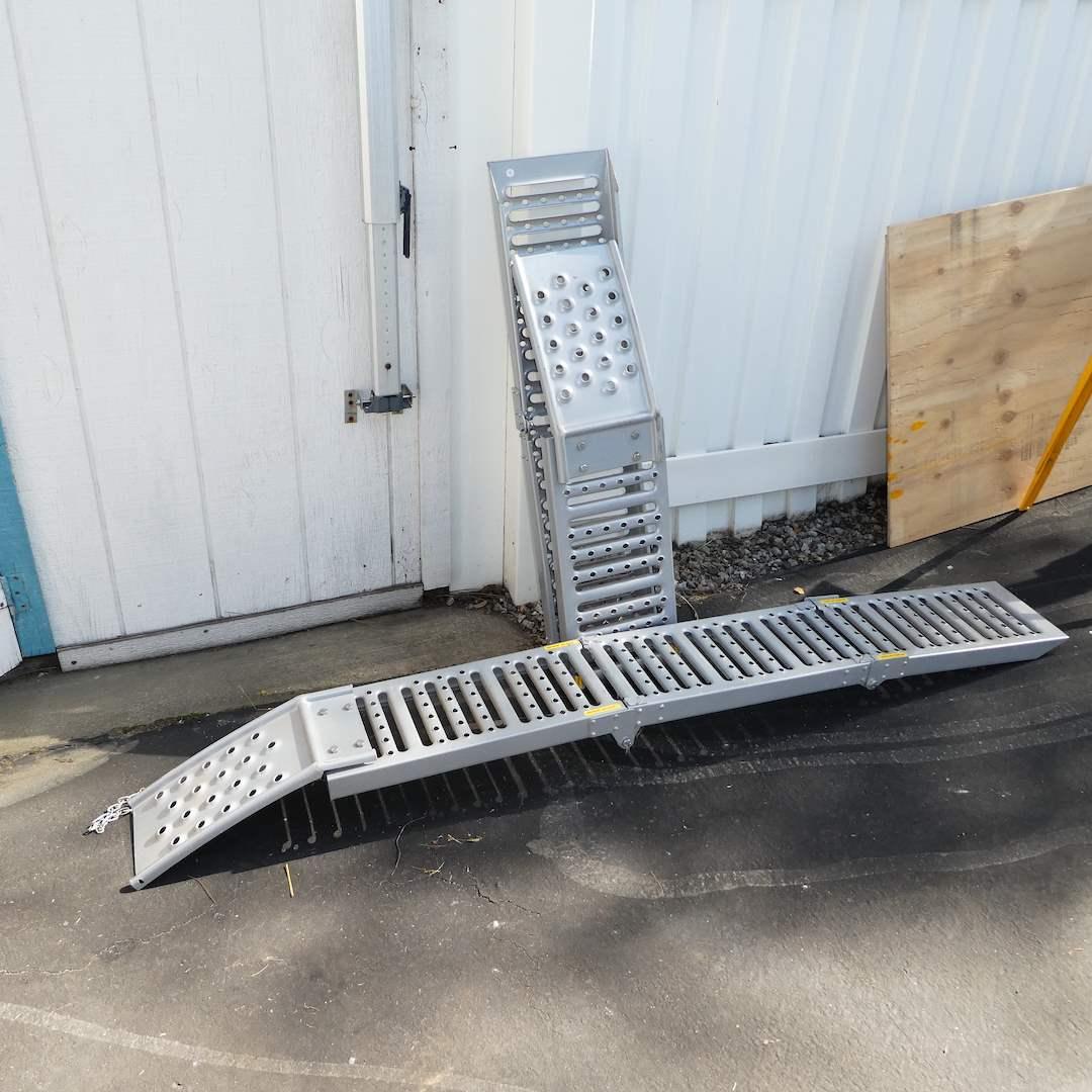Lot # 330 - Foldable Loading Ramps (main image)