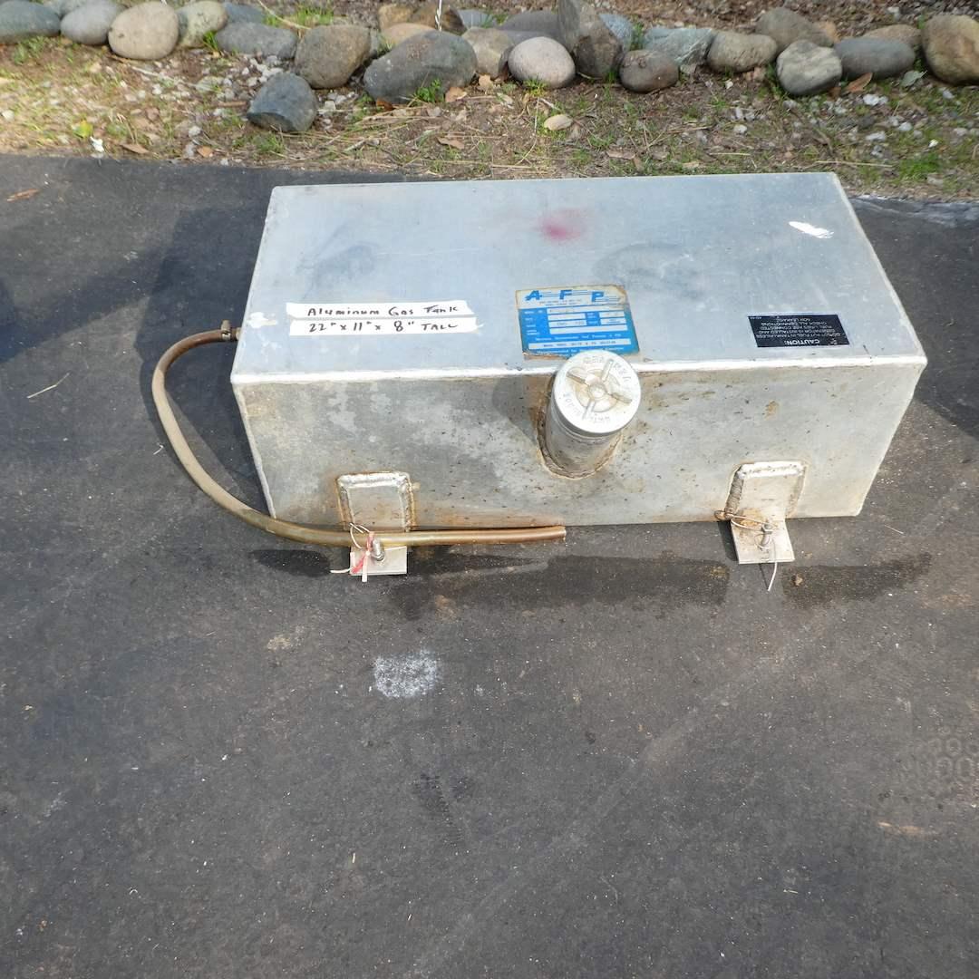 Lot # 345 - Aluminum Gas Tank (main image)