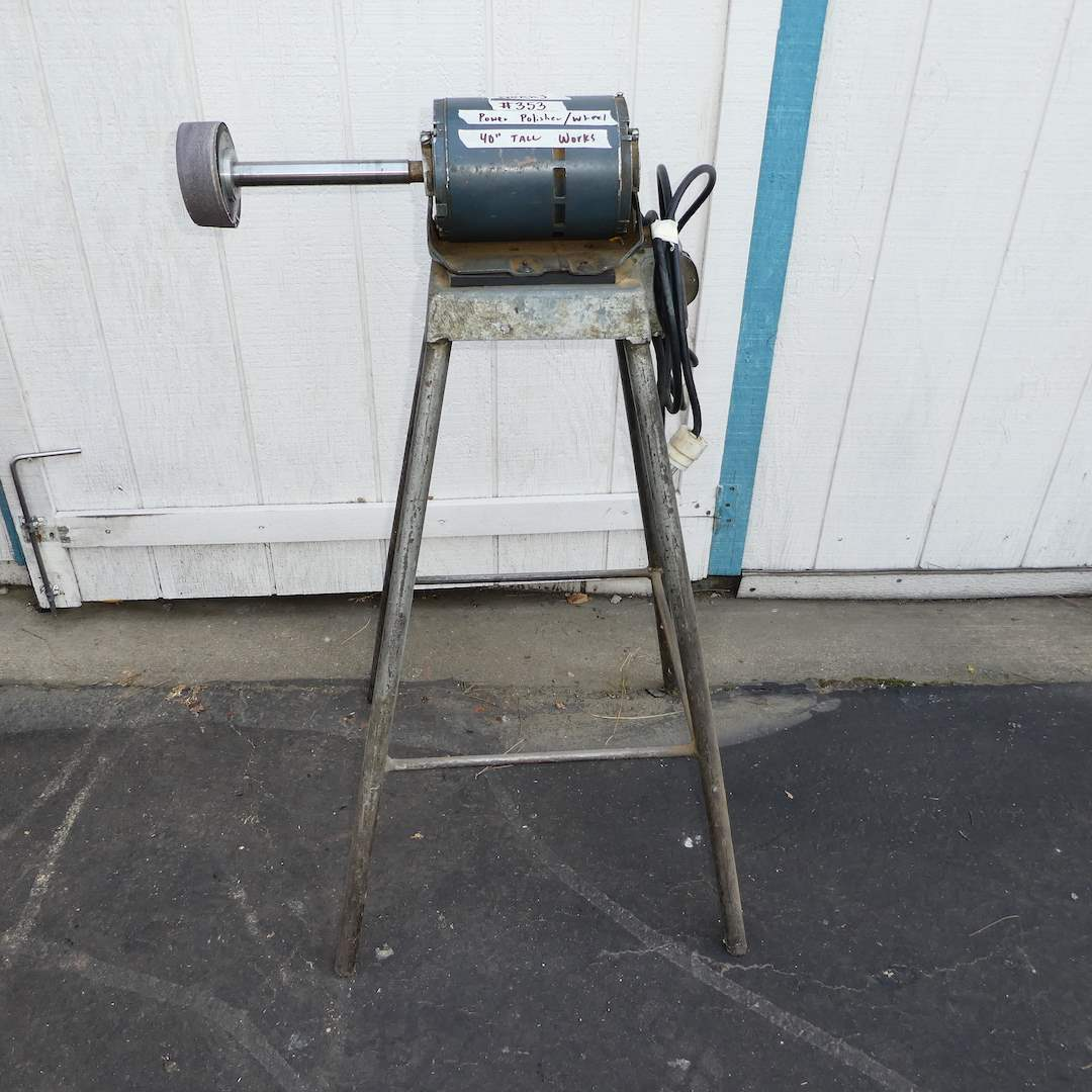 Lot # 353 - General Electric Power Polisher/ Wheel (Works) (main image)