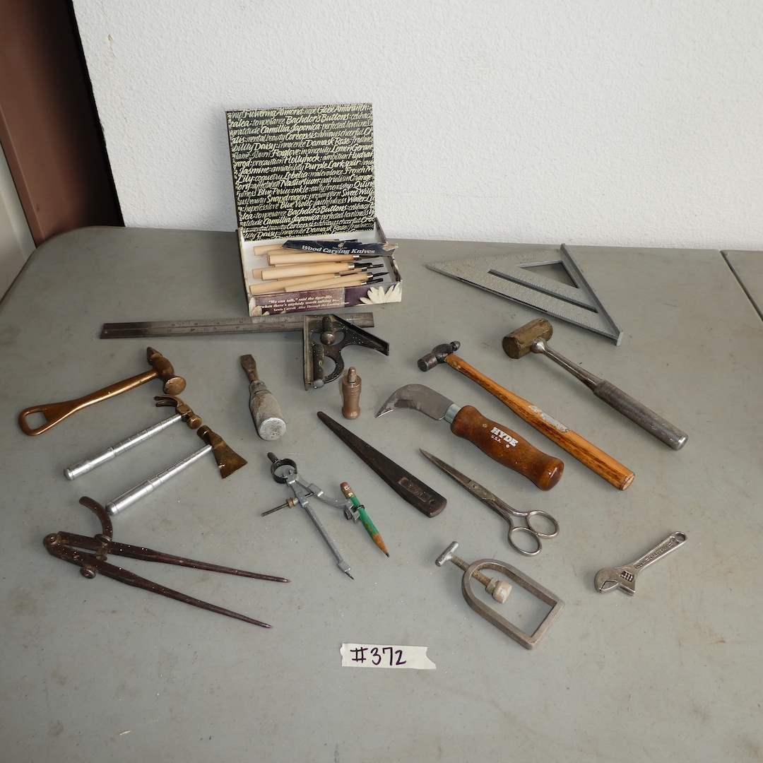Lot # 372 - Small Tools Lot (main image)