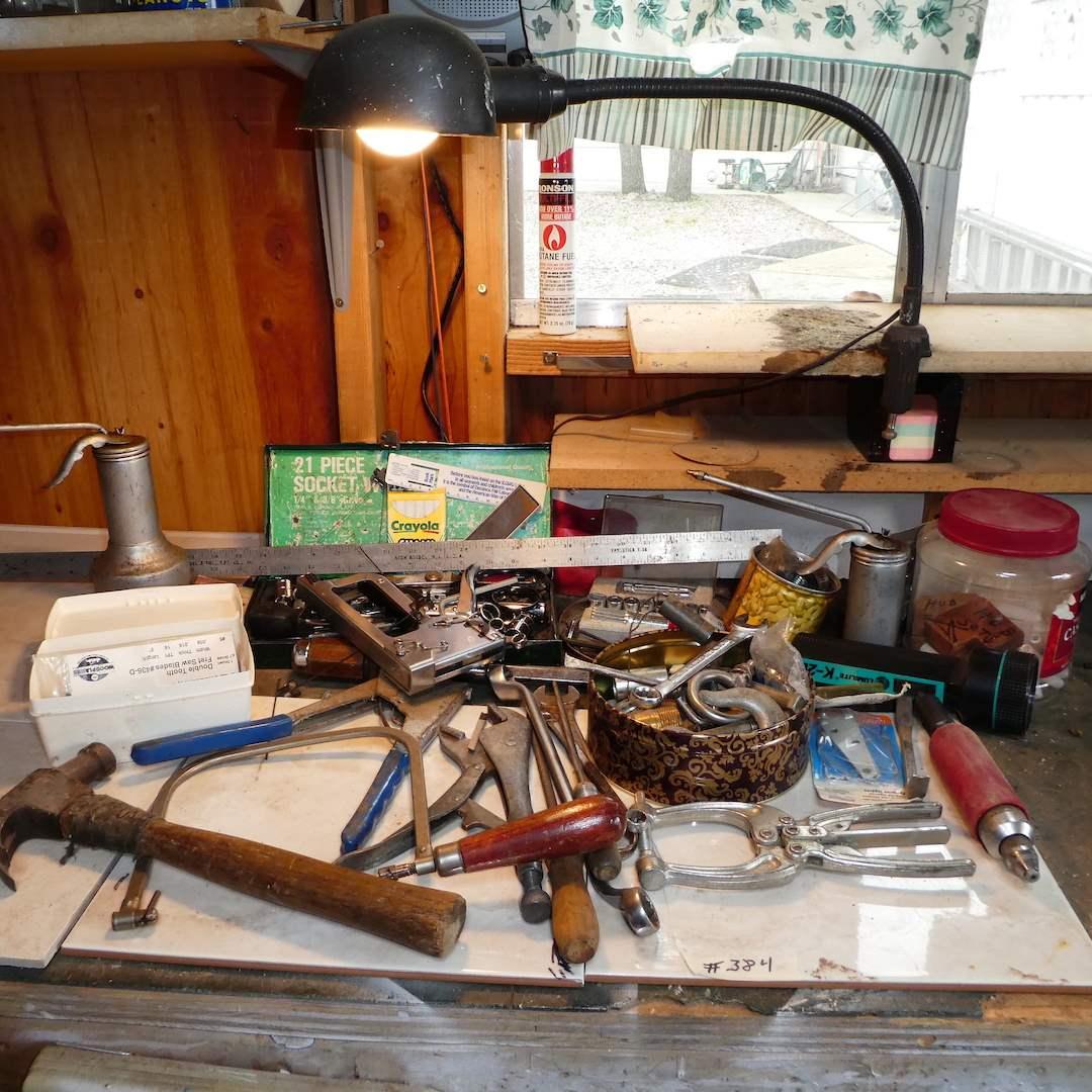 Lot # 384 - Misc Tool Lot  (main image)