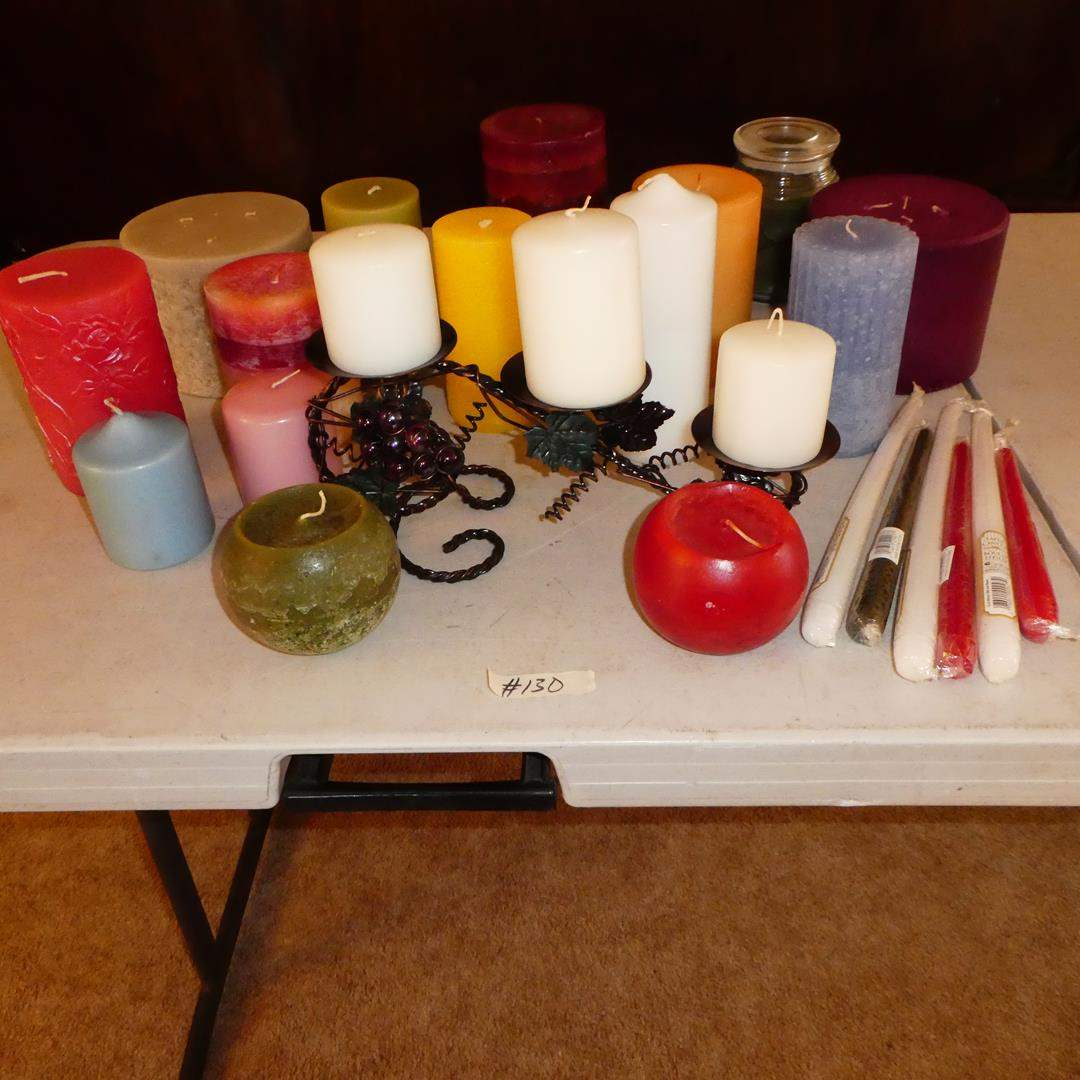 Lot # 130 - Candle Collection (main image)