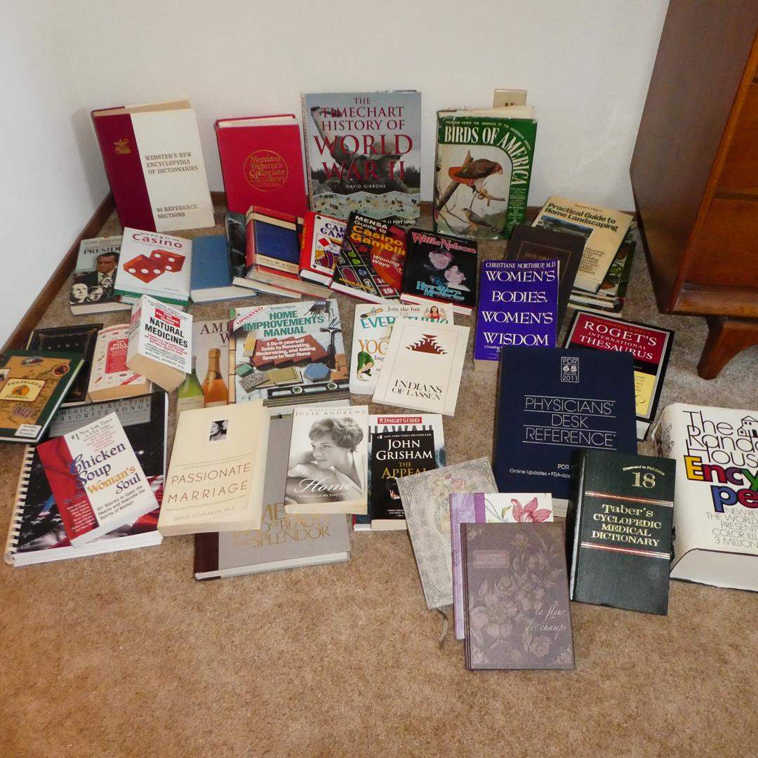 Lot # 133 - Assorted Books (main image)