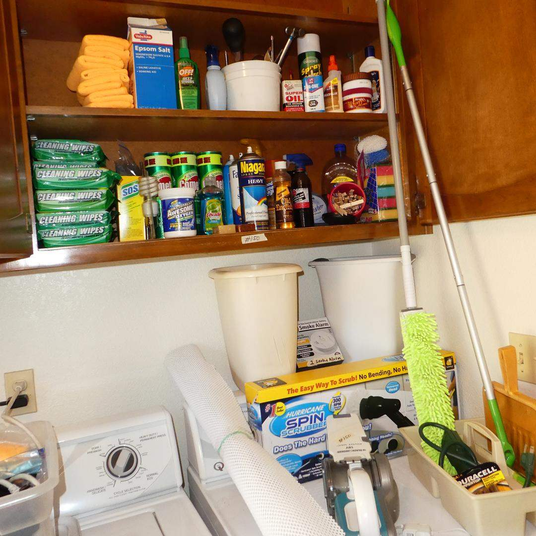 Lot # 150 - Household Cleaning Supplies (main image)