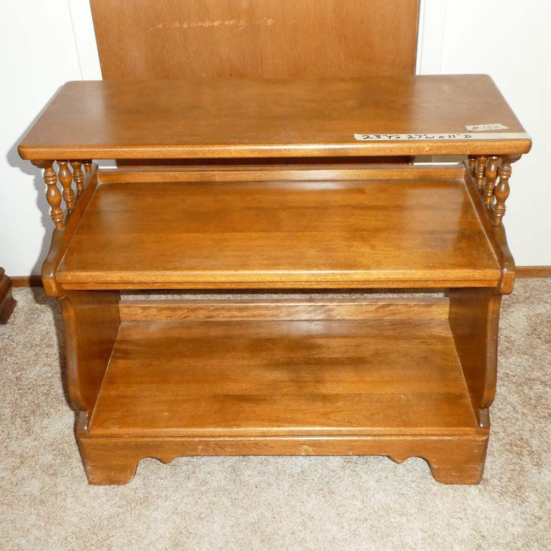 Lot # 152 - Vintage Wooden Bookcase / Shelf (main image)