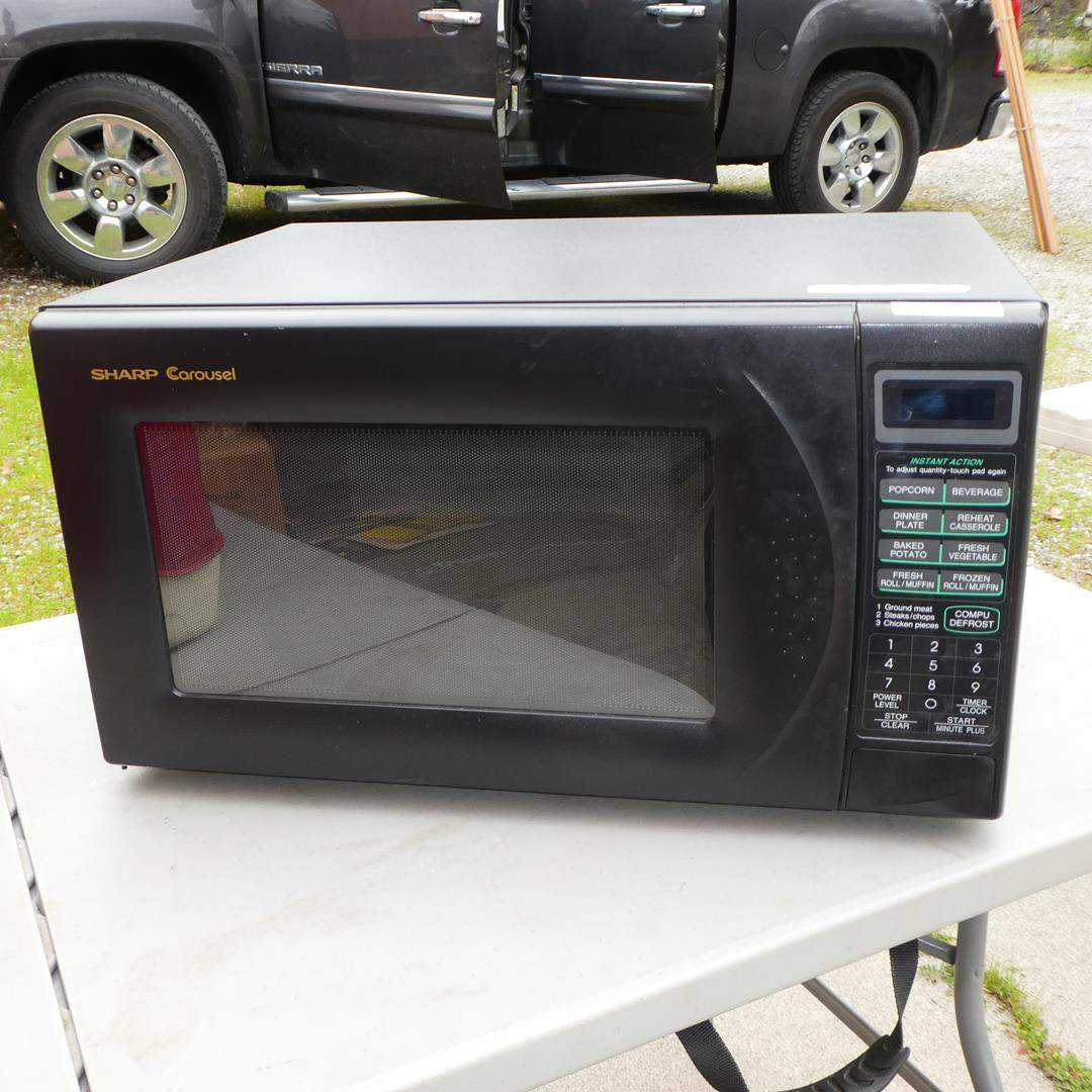 Lot # 306 - Sharp Carousel Microwave (main image)