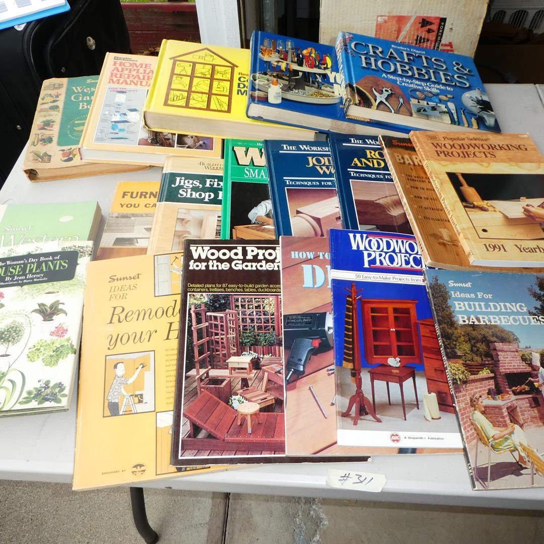 Lot # 311 - Assorted Project Books (main image)
