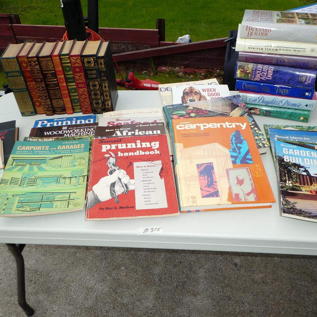 Lot # 315 - Assorted Informational Books (main image)