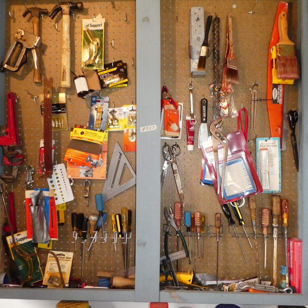 Lot # 323 - Assorted Hand Tools - Cabinet Not Included (main image)