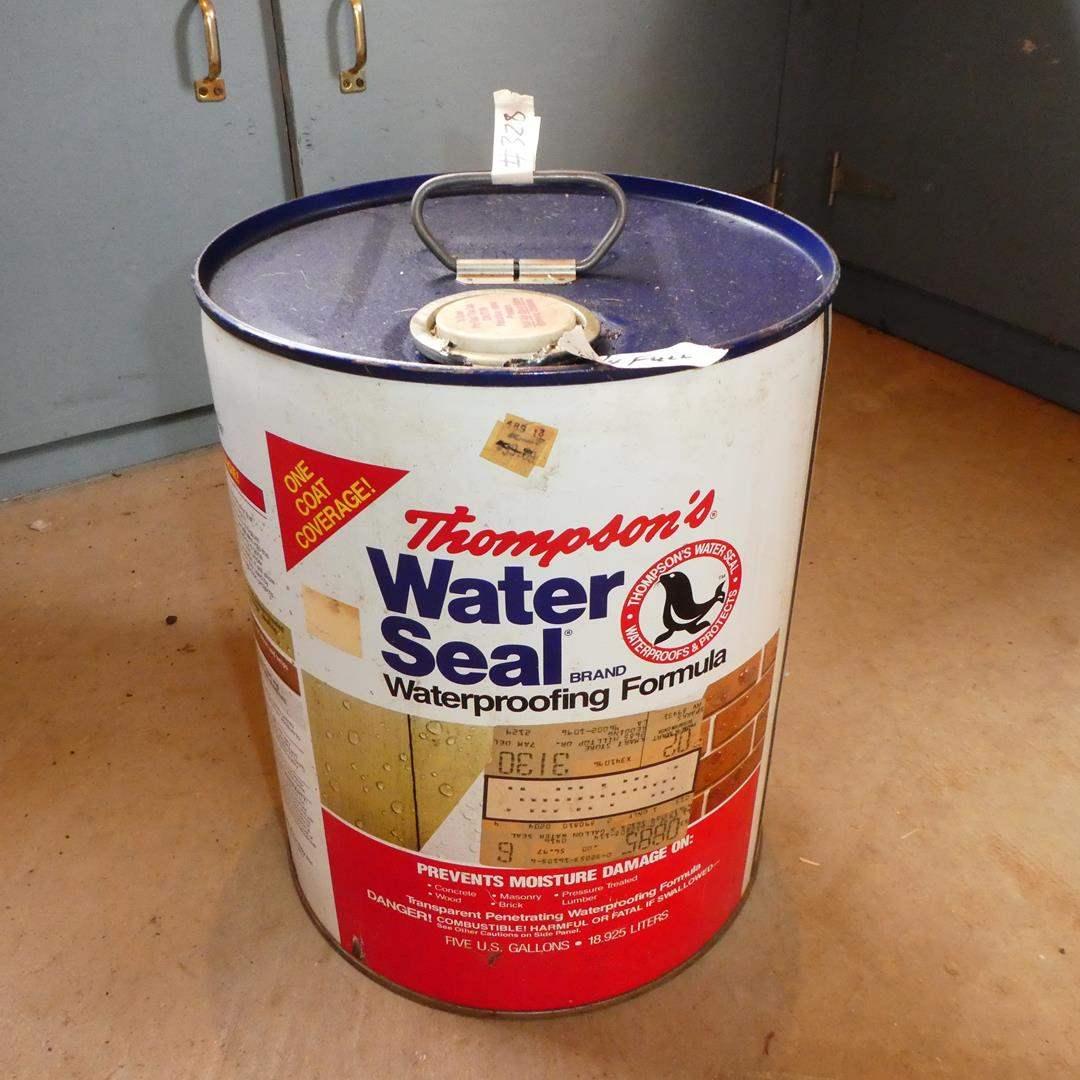 Lot # 328 - 'Thompson's' Water Seal Waterproofing Formula ¾ Full (main image)