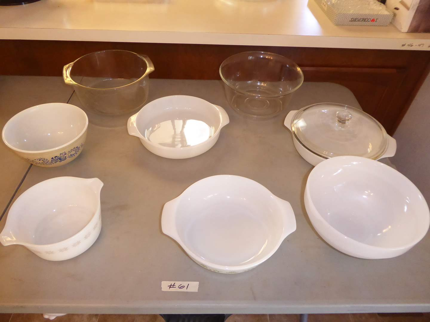 Lot # 61 - Pyrex, Fire King & Other Oven Proof Bakeware  (main image)