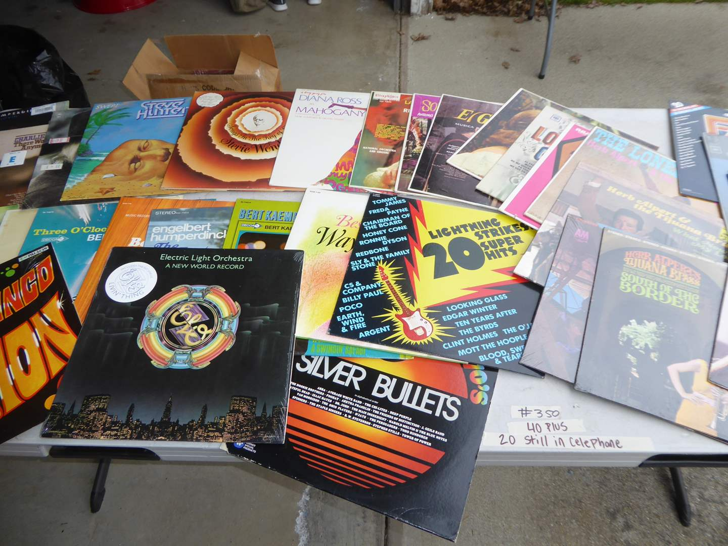 Lot # 350 - 40 + Albums Some Still in Cellophane (Not Sealed)  (main image)