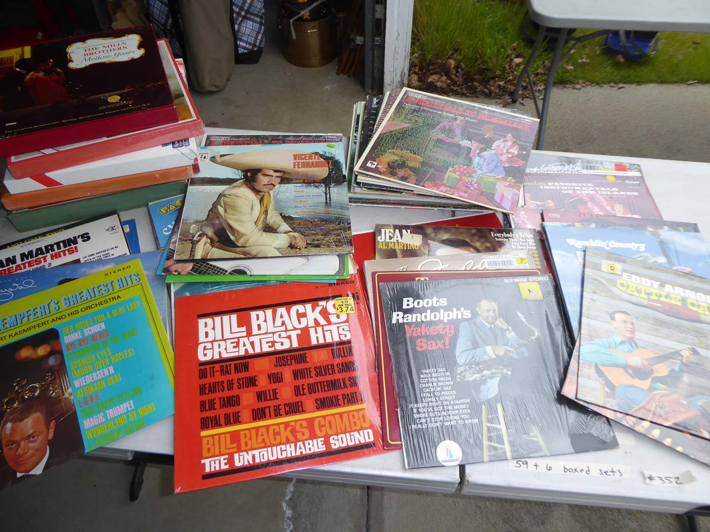 Lot # 352 - 90 + Albums Some Still in Cellophane (Not Sealed)  (main image)