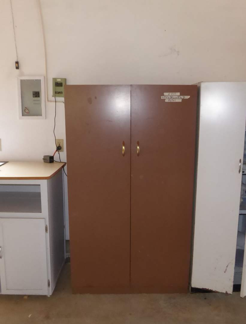 Lot # 355 - Metal Shop Cabinet  (main image)