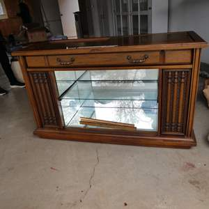 Auction Thumbnail for: Lot # 263 - Magnavox Stereo Cabinet (Repurpose Bar Project)
