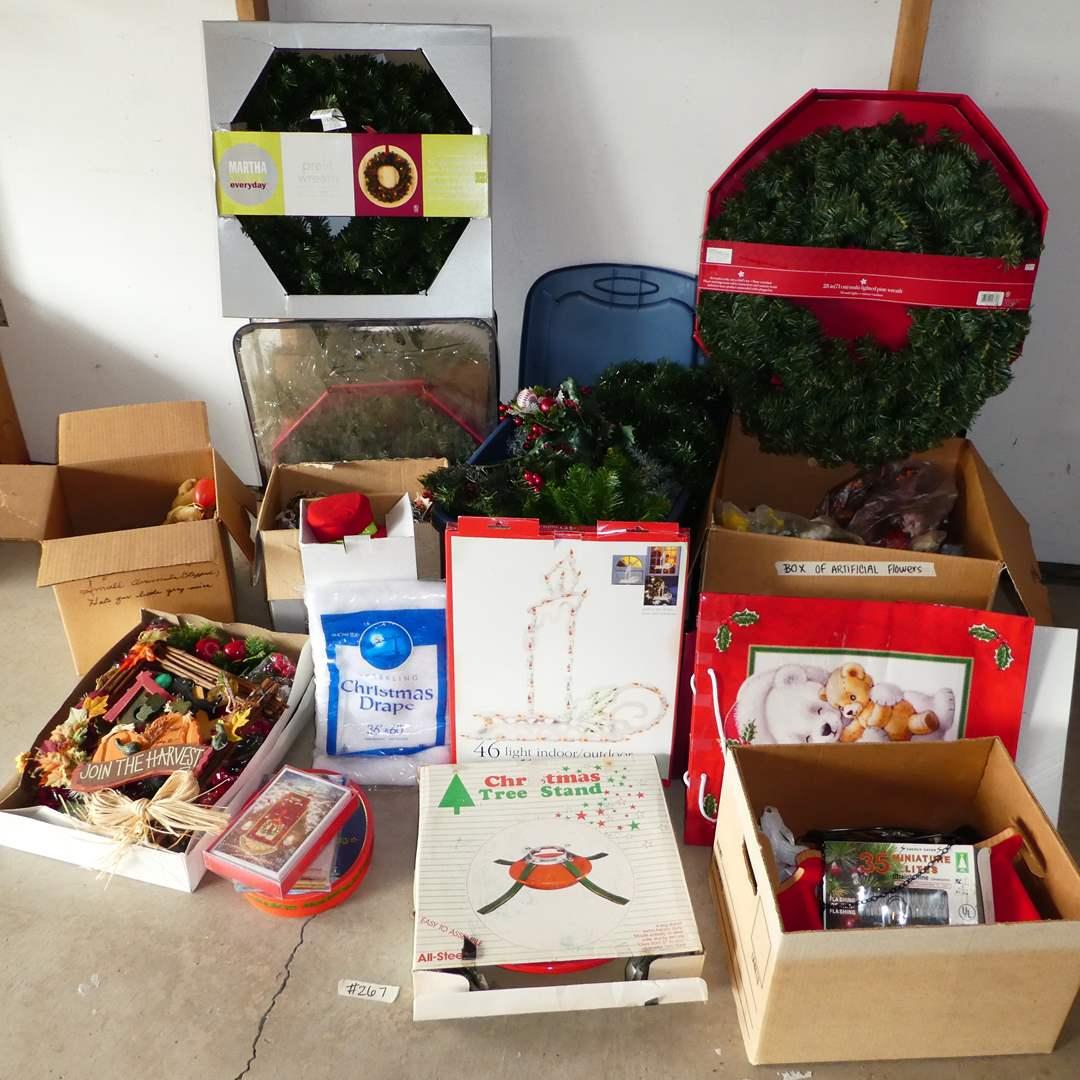 Lot # 267 - Large Variety Christmas Lot (main image)