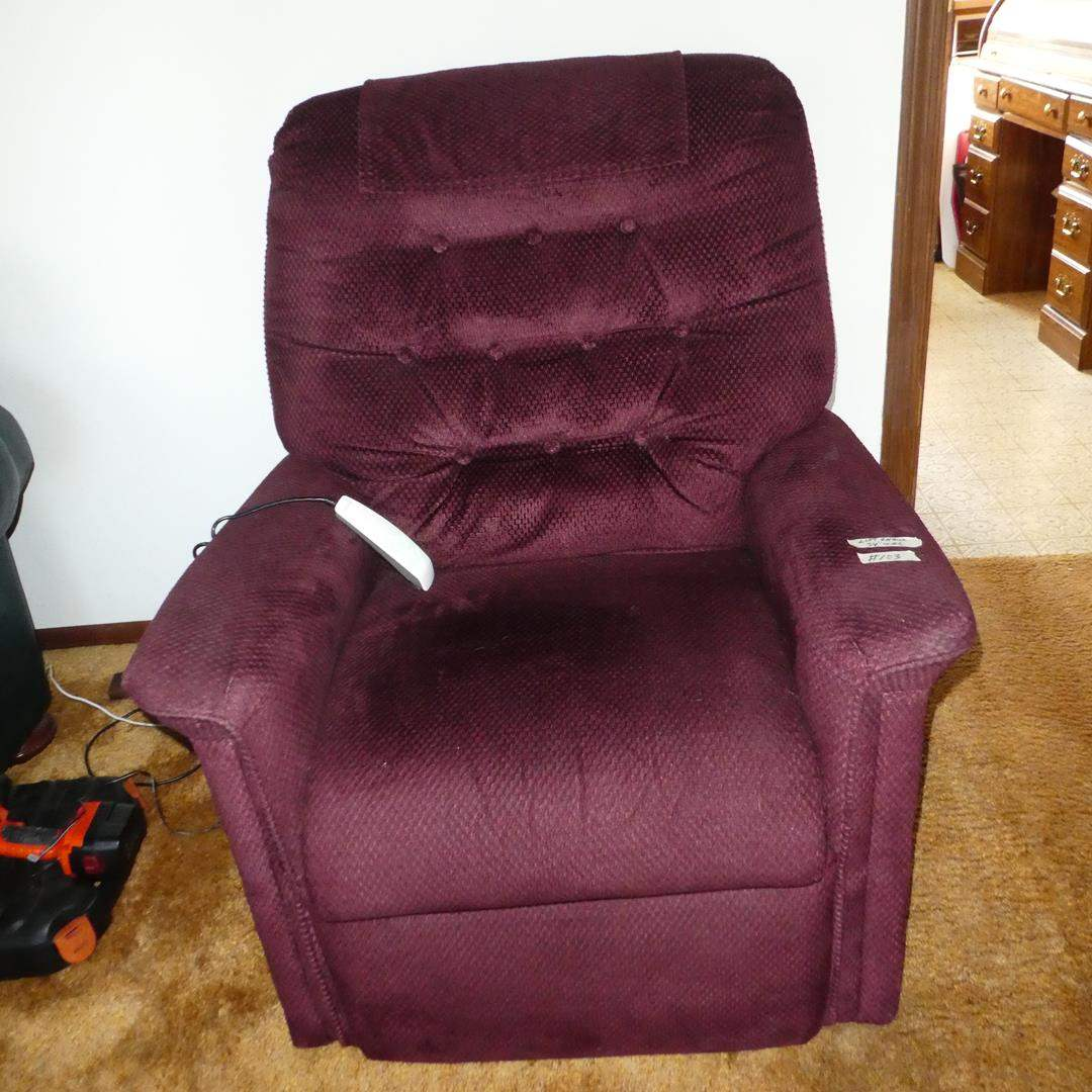 Lot # 103 - 'Pride' Reclining Lift Chair (main image)