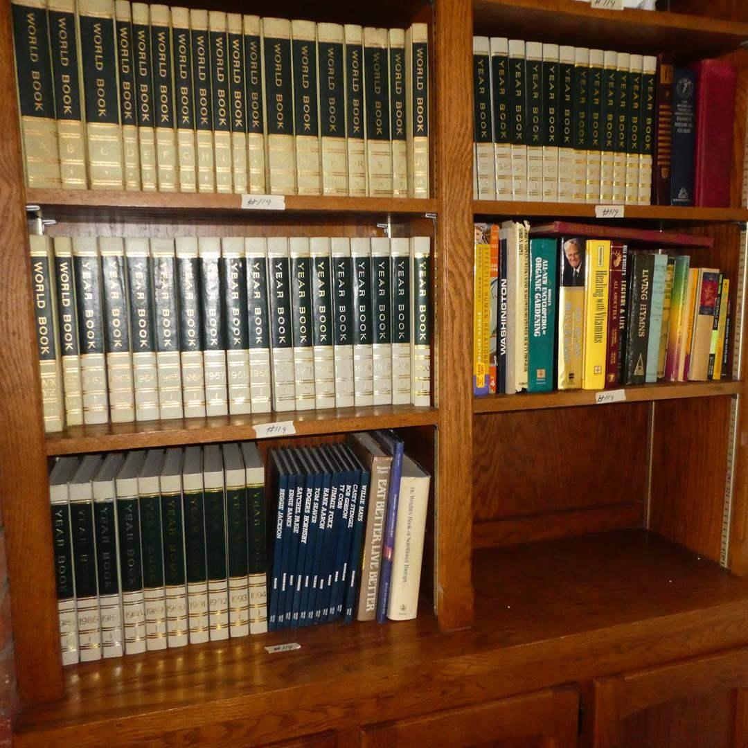 Lot # 119 - Vintage World Book Encyclopedias & Other Books (main image)