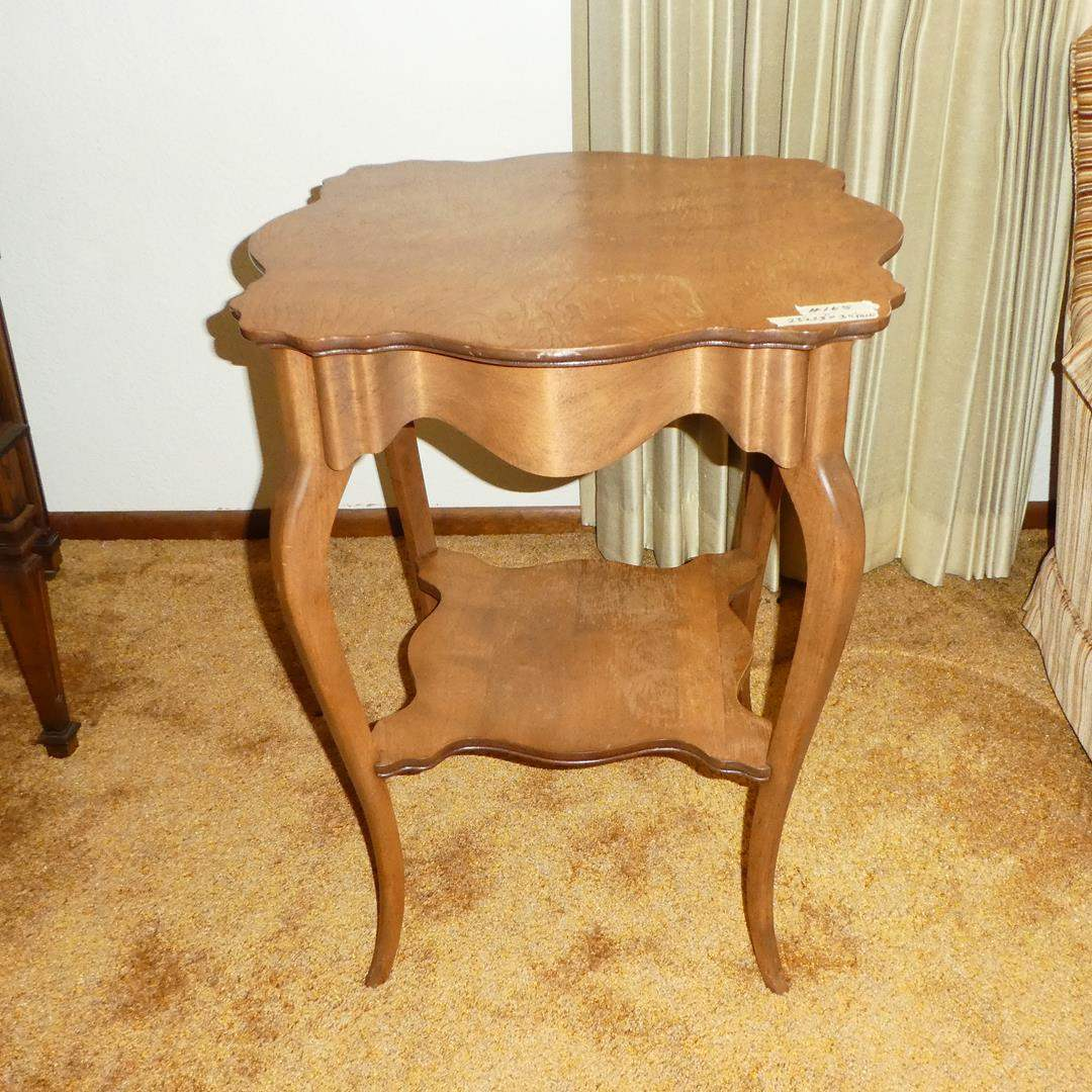 Lot # 165 - Vintage Wooden Accent Table (main image)