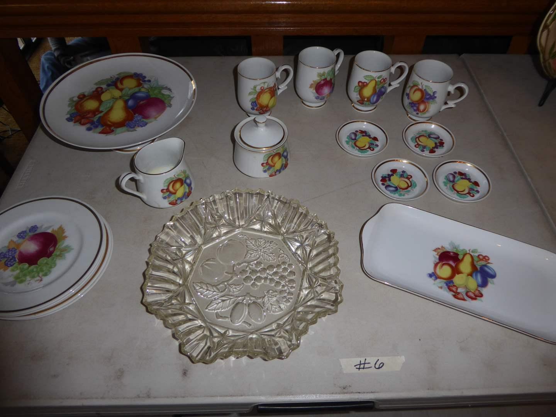 Lot # 6 - Translucent Porcelain Royalton China Co  (main image)