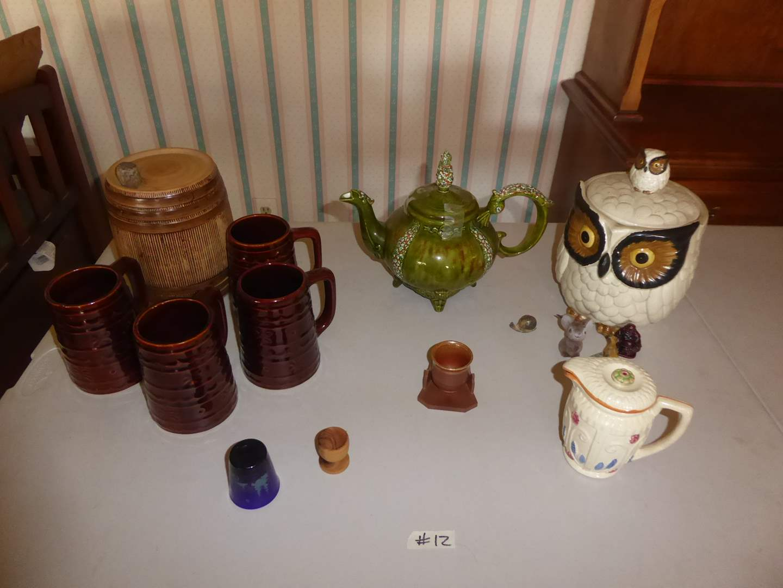 Lot # 12 - Pottery & Ceramics (LOMA, USA, Japan)  (main image)