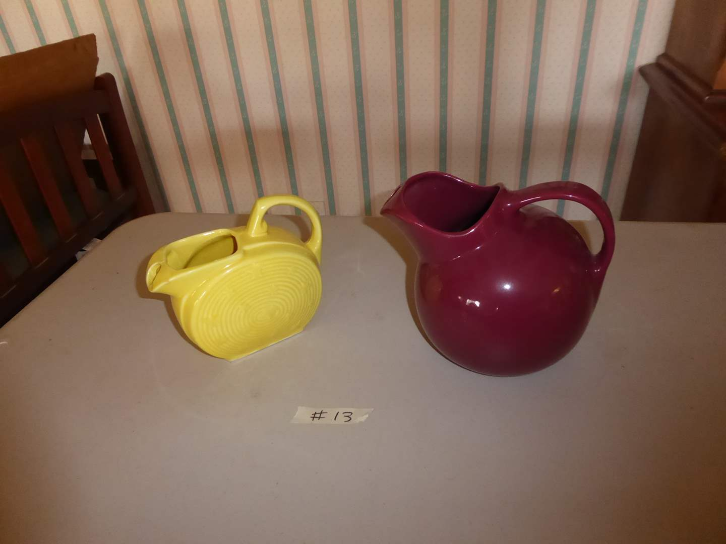 Lot # 13 - Two Ceramic Teapots (Chefsware & USA)  (main image)