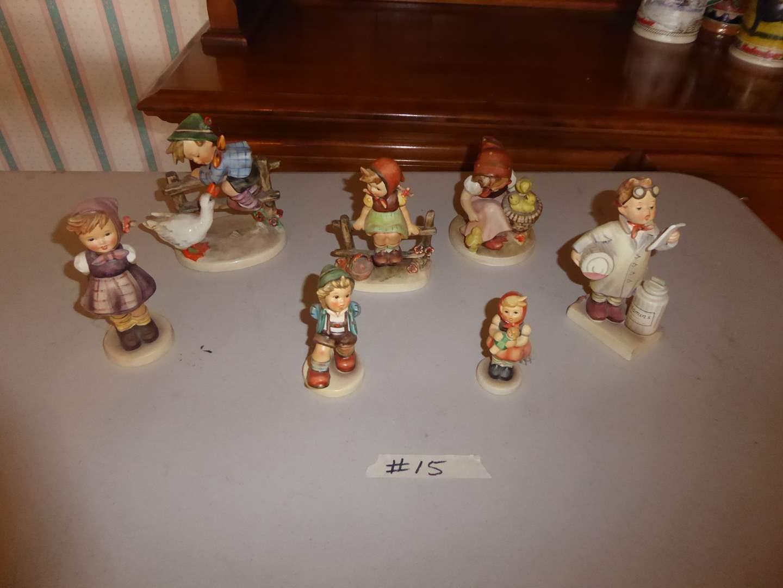Lot # 15 - Goebel Hummel Figurines  (main image)