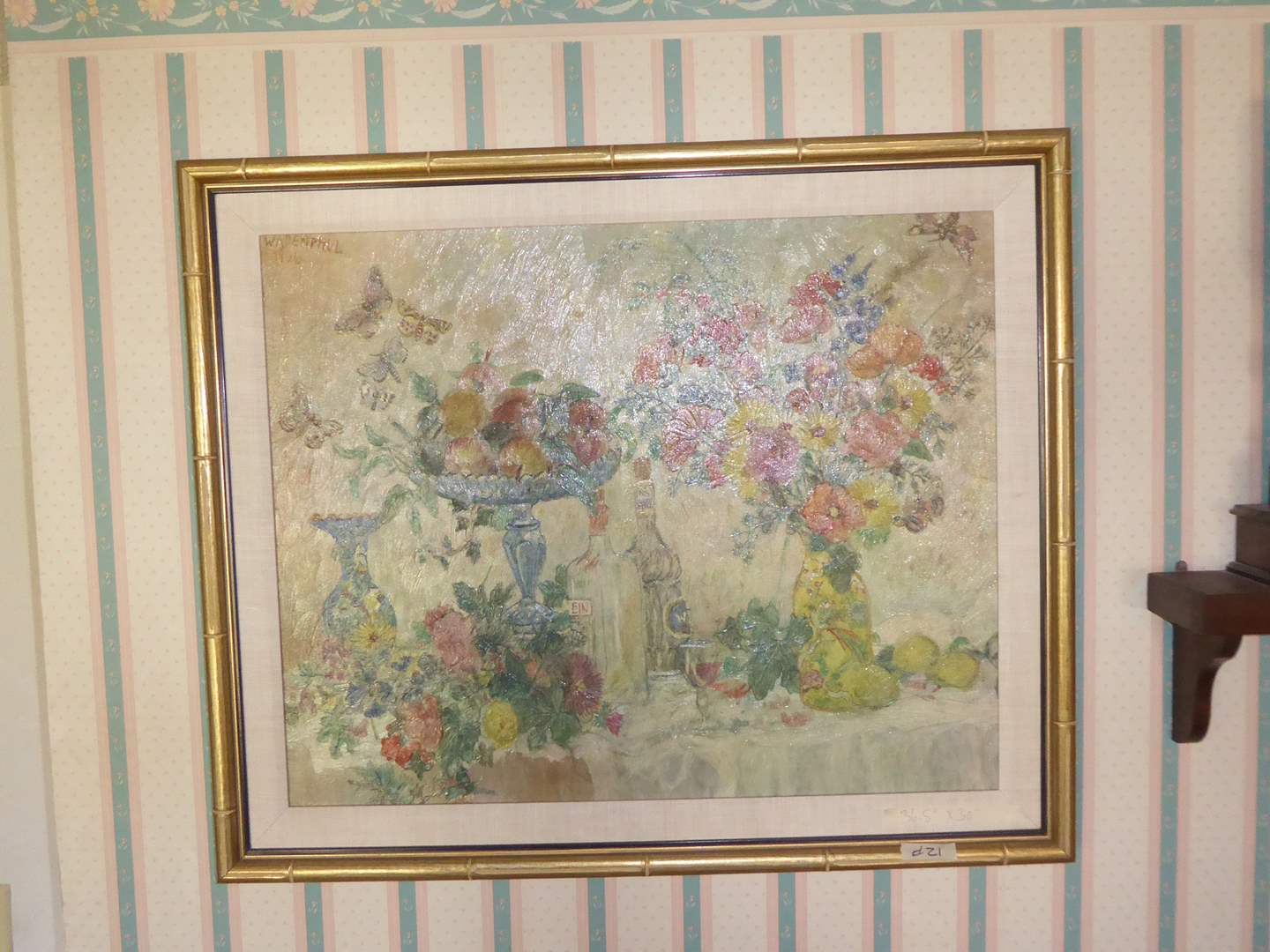 "Lot # 21 - Framed ""Max Peiffer Watenphul 1936"" Print  (main image)"