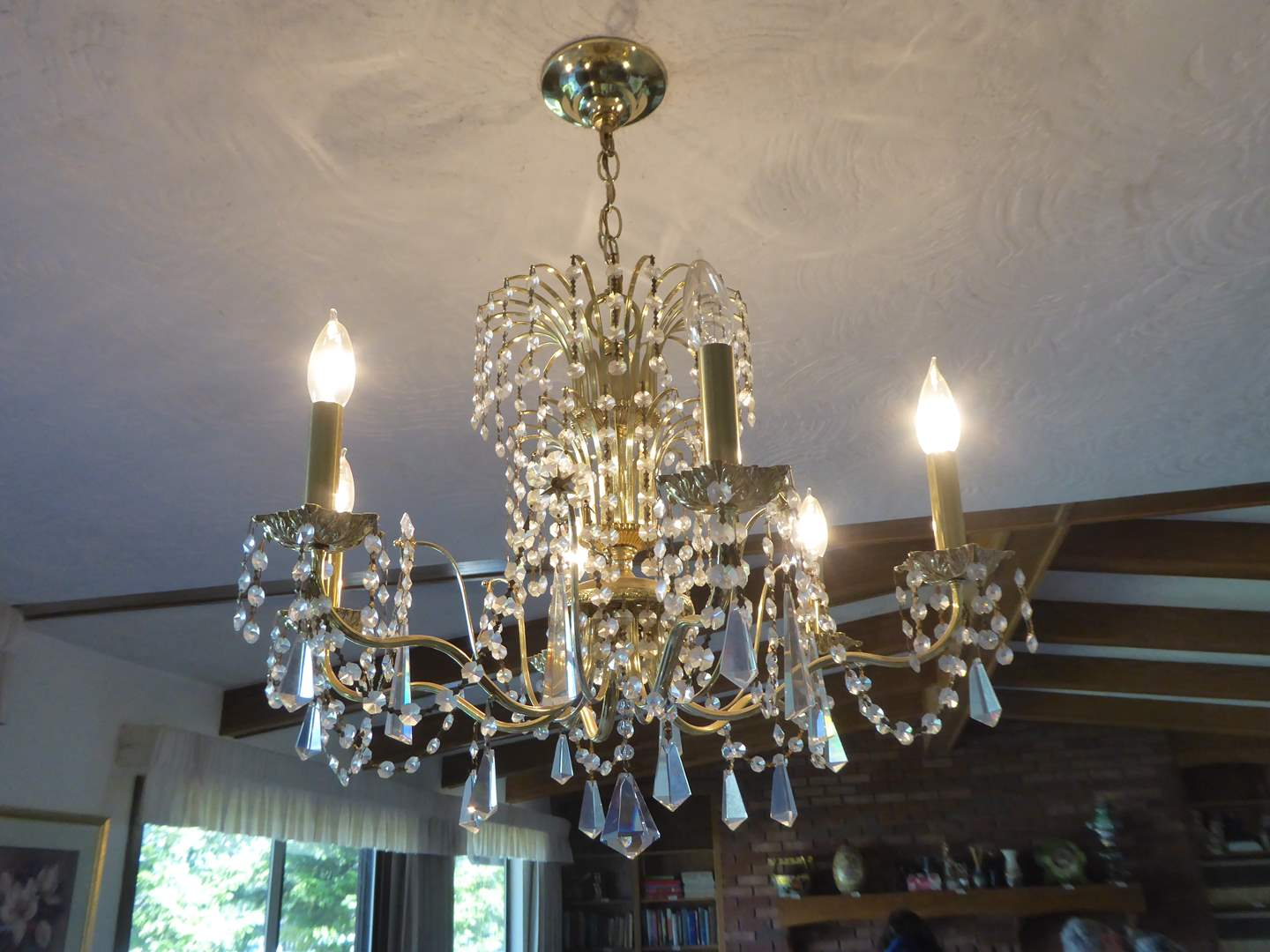 Lot # 25 - Swarovski Crystal Chandelier  (main image)