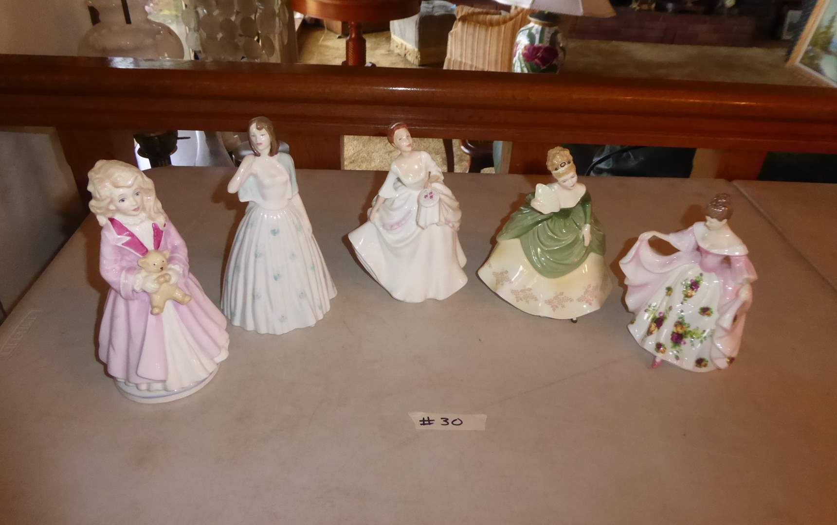 Lot # 30 - Four Royal Doulton Figurines  (main image)
