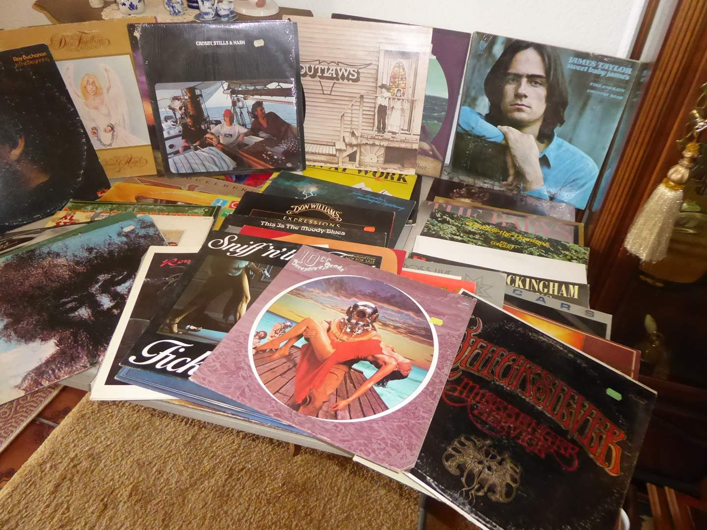 Lot # 55 - Record Collection (Classic Rock, Rock & More)   (main image)