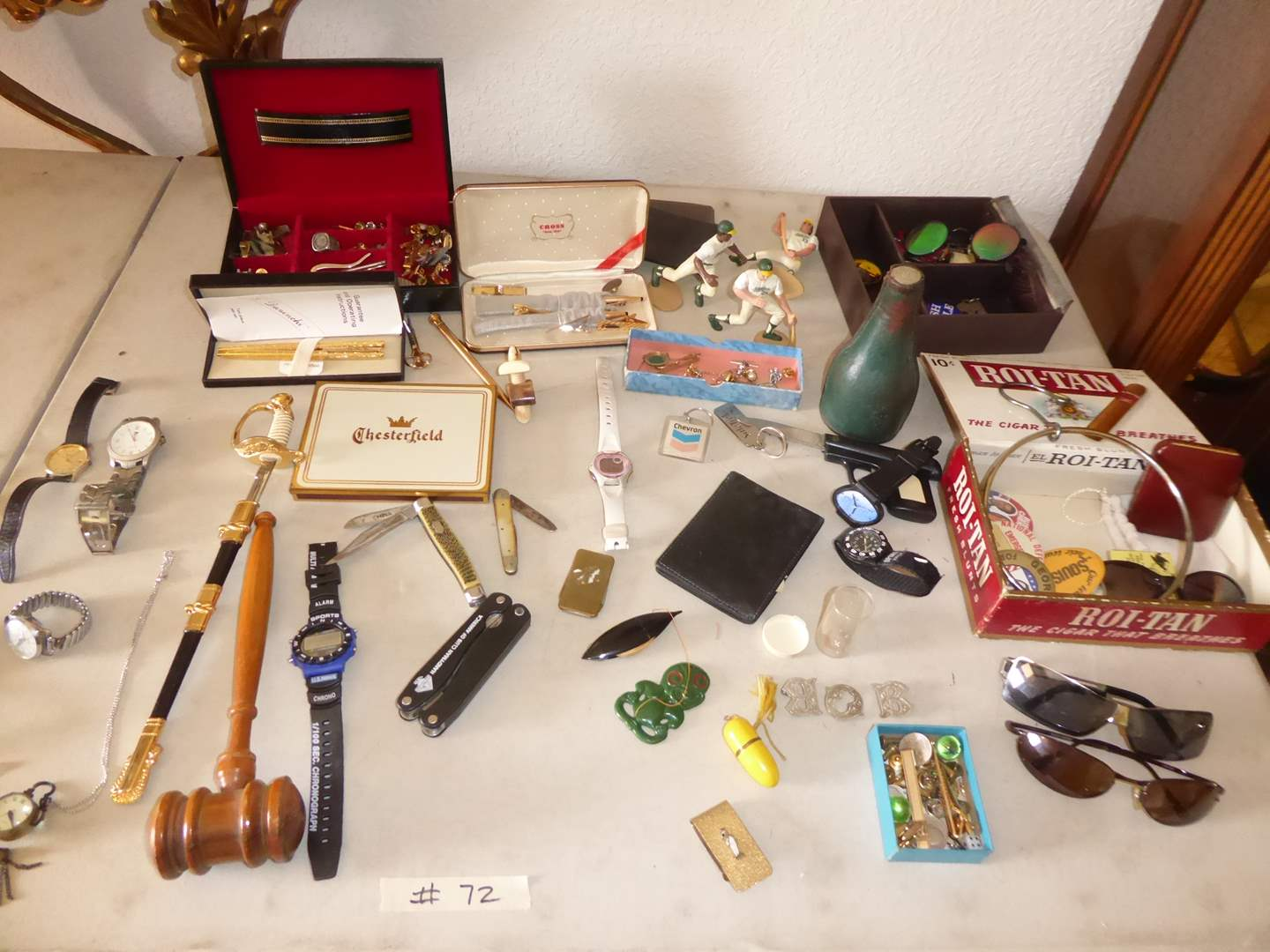 Lot # 72 - Watches, Knives & Vintage Collectibles  (main image)