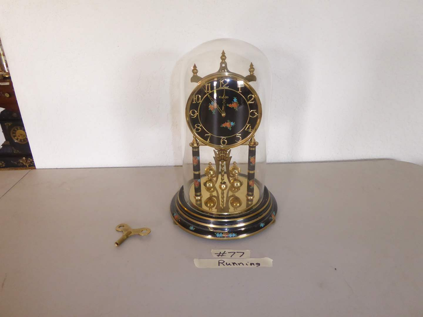 Lot # 77 - Vintage Anniversary Clock  (main image)