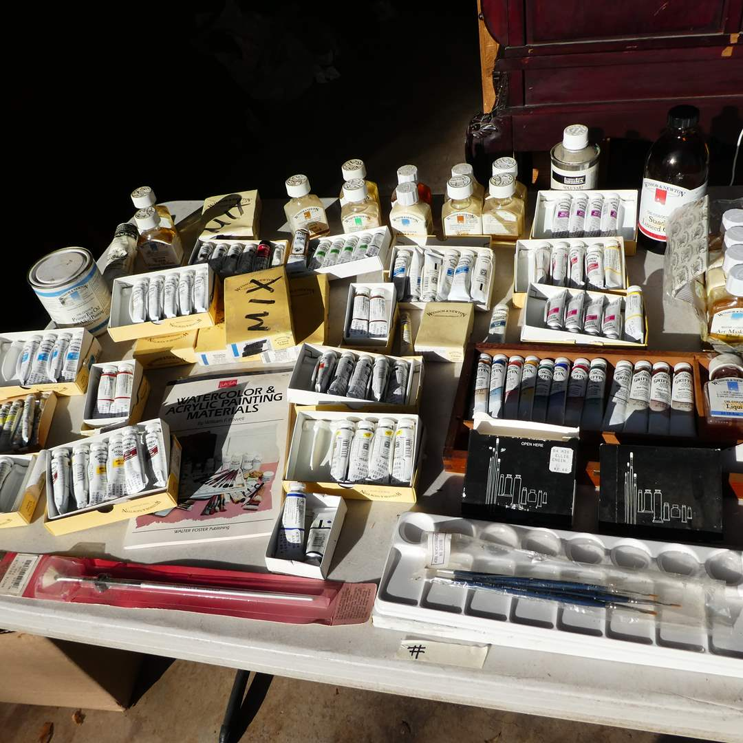 Lot # 339 - Quality Art Supplies (Windsor & Newton and Griffin) (main image)