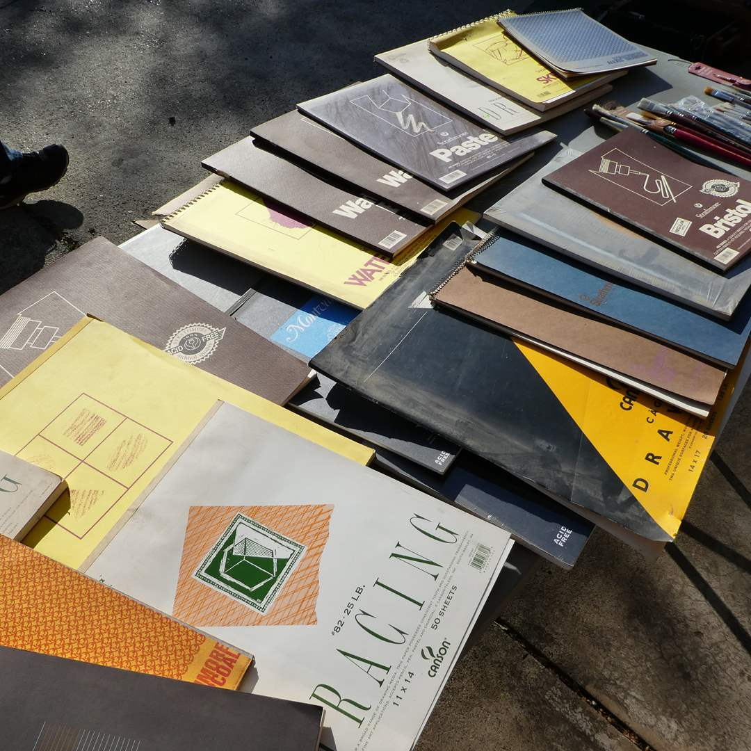 Lot # 340 -  Variety of Quality Artist Paper Booklets  (main image)