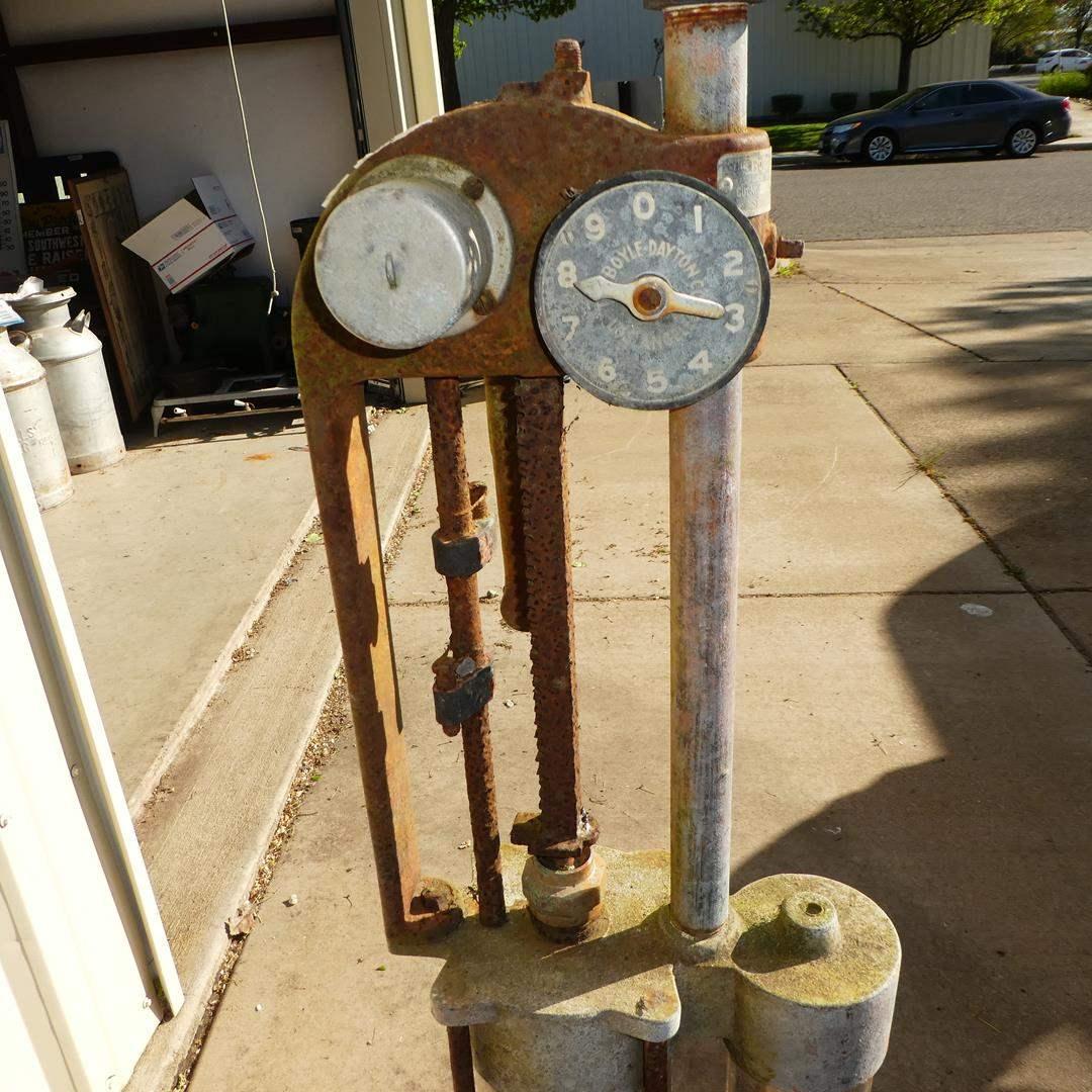Lot # 153 - Antique Gas Pump (main image)