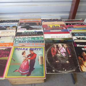 Auction Thumbnail for: Lot # 12 -  Lot Of 100 Records