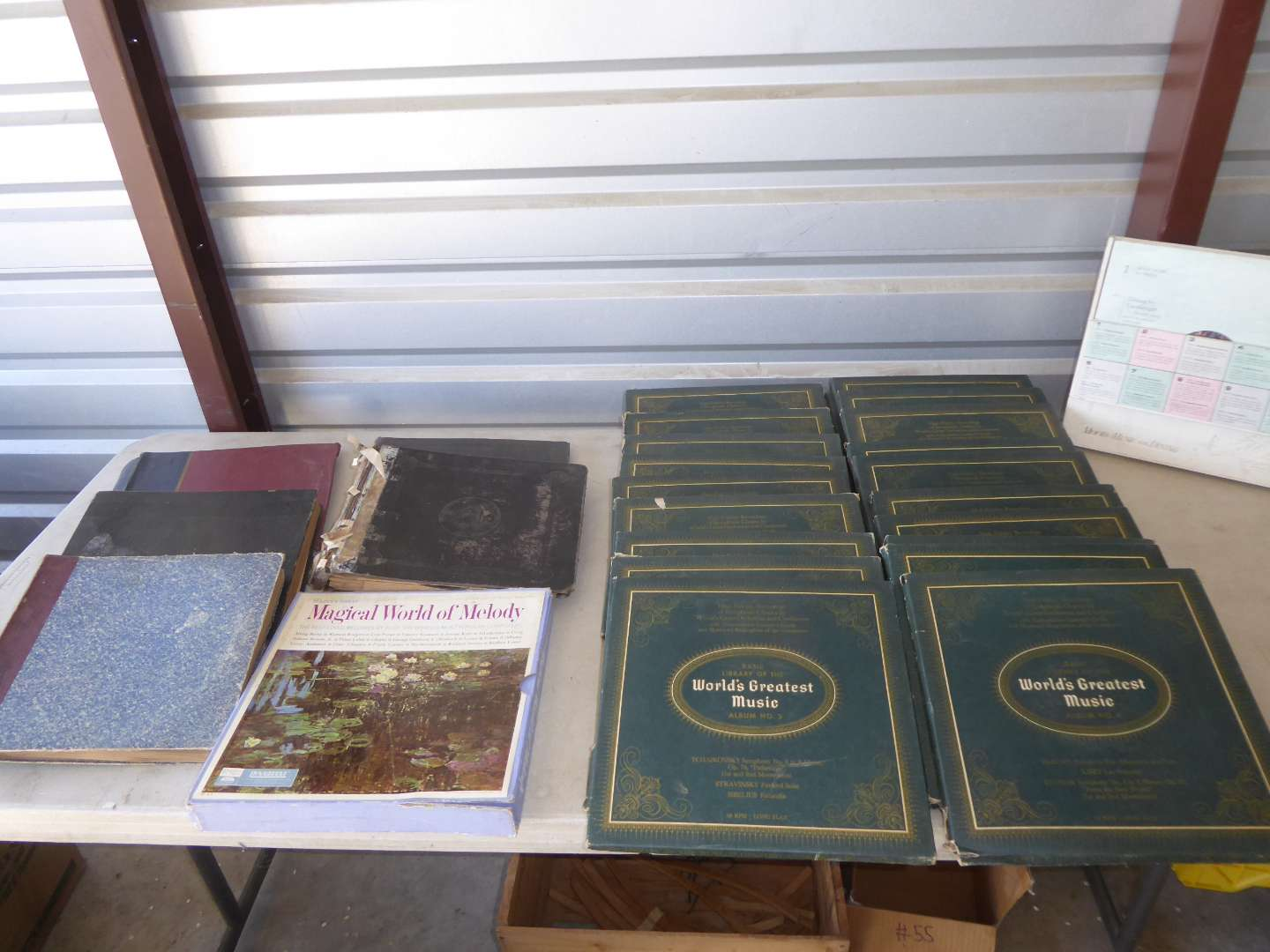Lot # 16 - Worlds Greatest Music & Other Records  (main image)