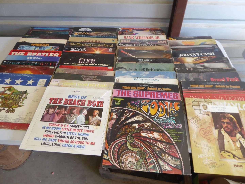 Lot # 17 - 48 Records (Beach Boys, Beatles, Supremes)  (main image)