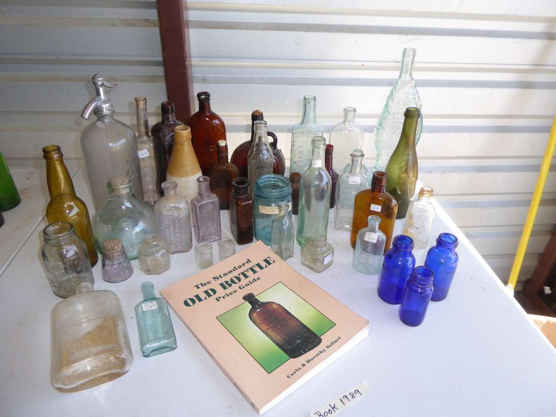 Lot # 41 - Vintage Bottle Collection  (main image)