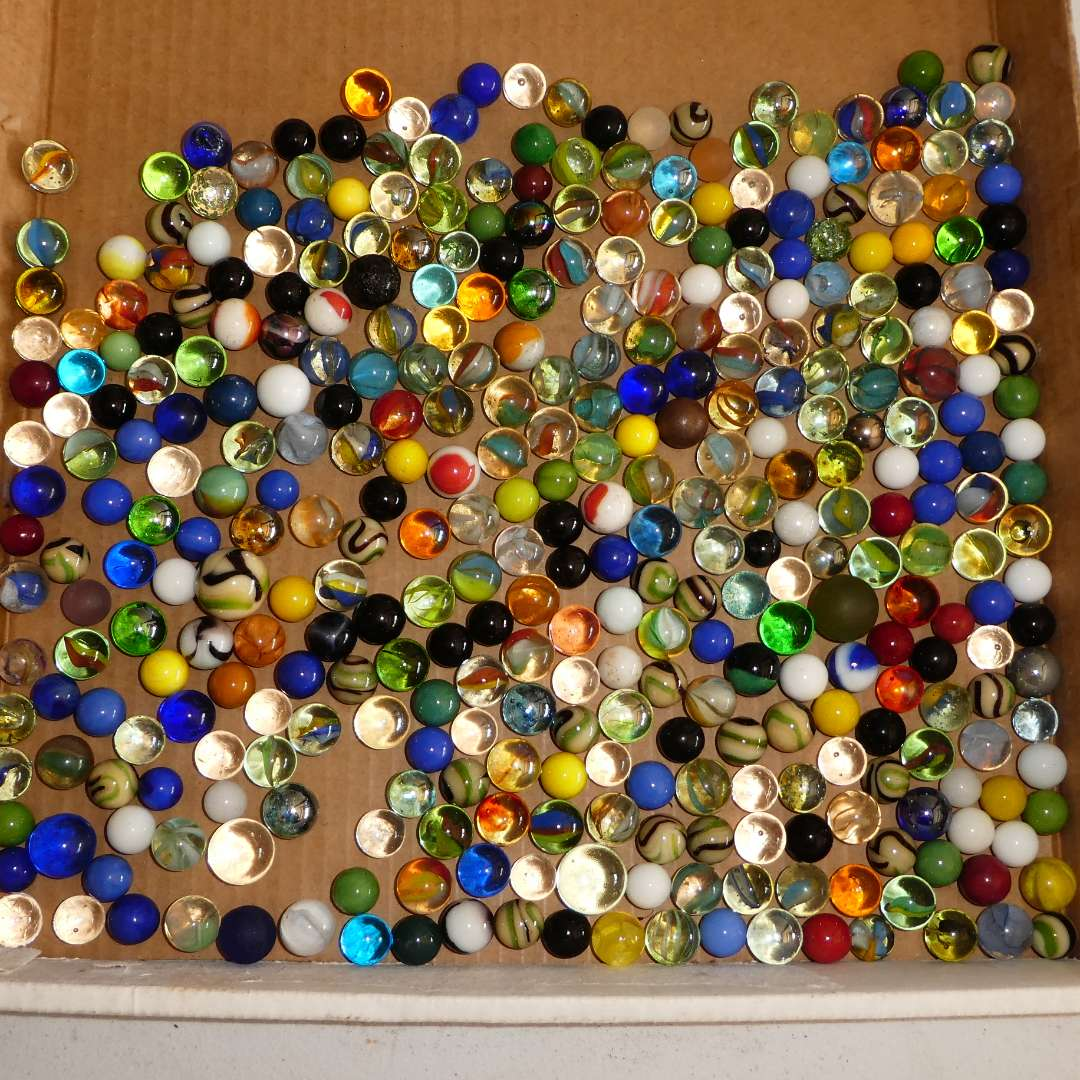 Lot # 306 - Collection of Marbles  (main image)