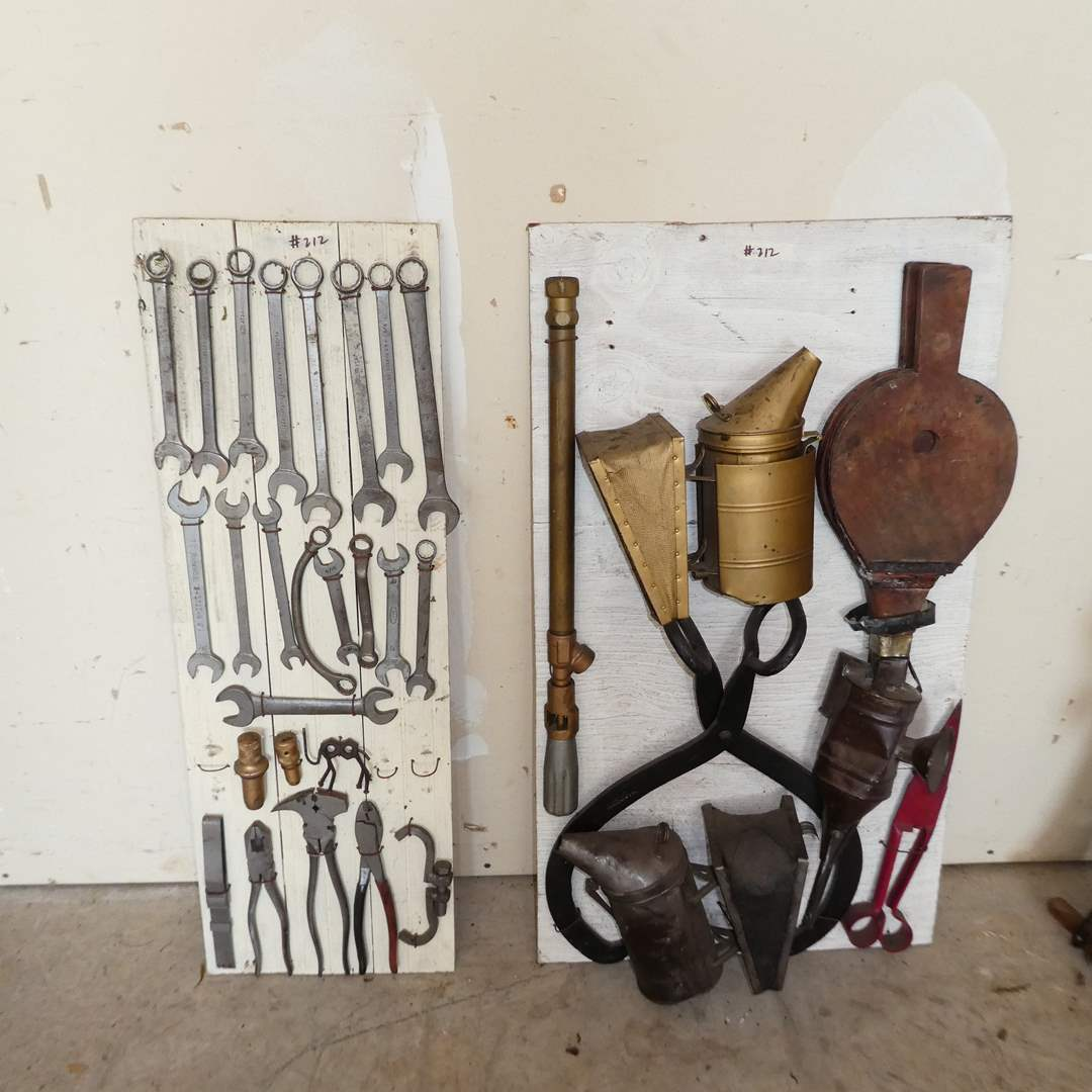 Lot # 212 - Vintage Tool Displays  (main image)