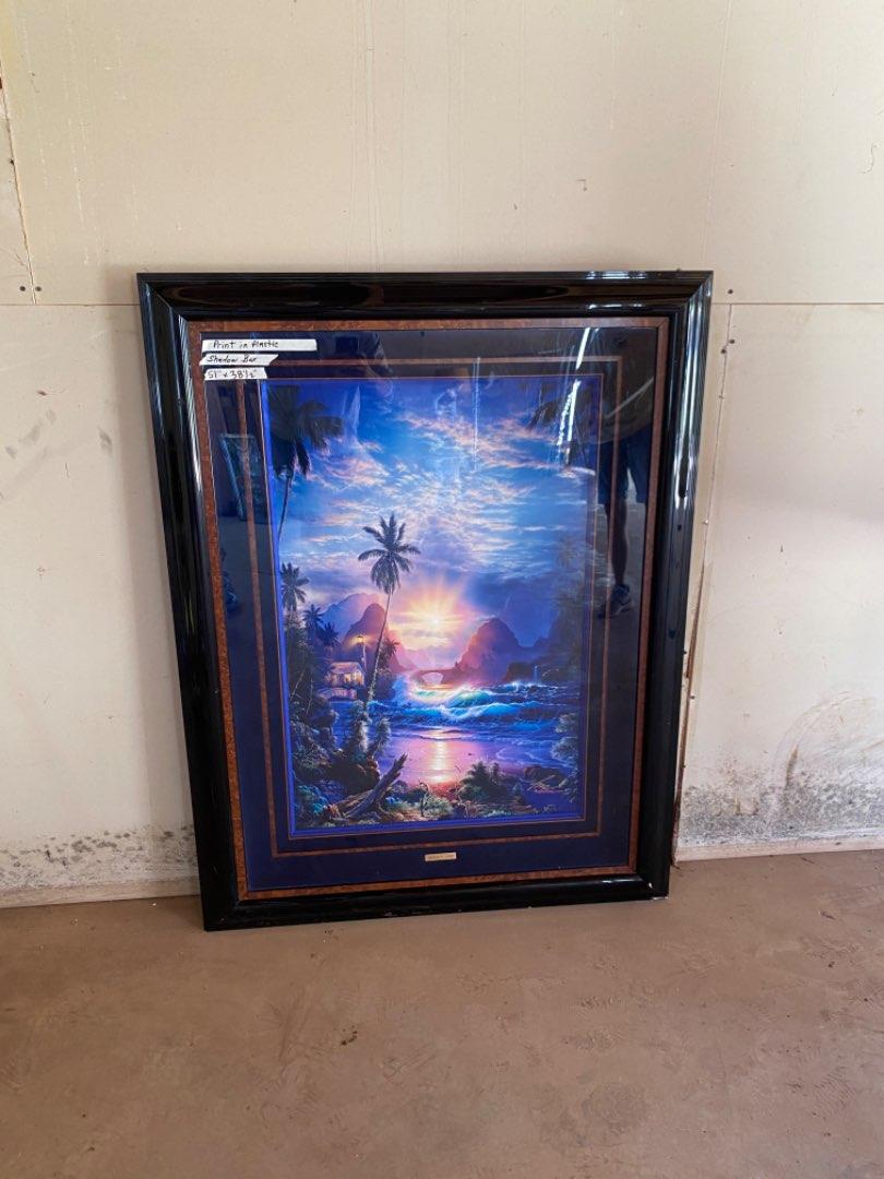 Lot # 26 - Beautiful Framed Christen R. Lassen Print